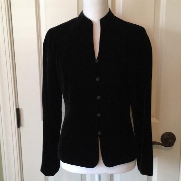 641a72d057eb Ann Taylor Jackets & Coats | Gorgeous Black Velvet Jacket | Poshmark
